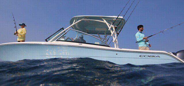 Cobia Boats available at All Out Cycles