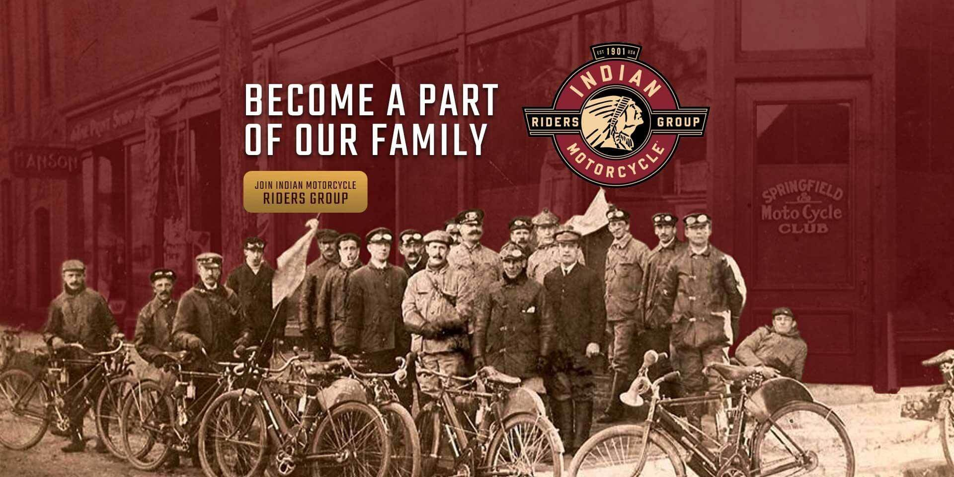 Indian Motorcycles Riders Club